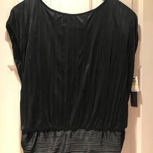Cynthia Steffe black blouse